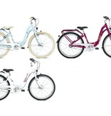Puky Kinderfiets Skyride 24 inch Aluminium light (City) Paars 7 versnellingen