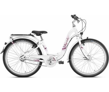 Puky Kinderfiets Skyride 24 inch Aluminium light (City) Wit 3 versnellingen