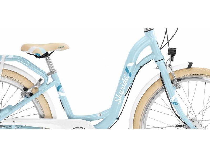 Puky Kinderfiets Skyride 24 inch Aluminium light (Classic) Blauw 3 versnellingen