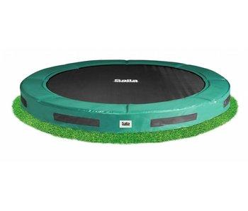 Salutoni Inground excellent trampoline - Groen (o 427 cm)