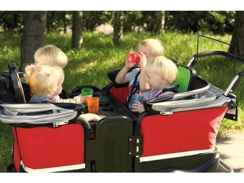 Winther Turtle Kiddy Bus de Luxe 4-zits