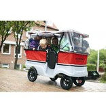 Winther Kiddy Bus Basic Regenhoes voor 6-zits Kiddy bus 522587