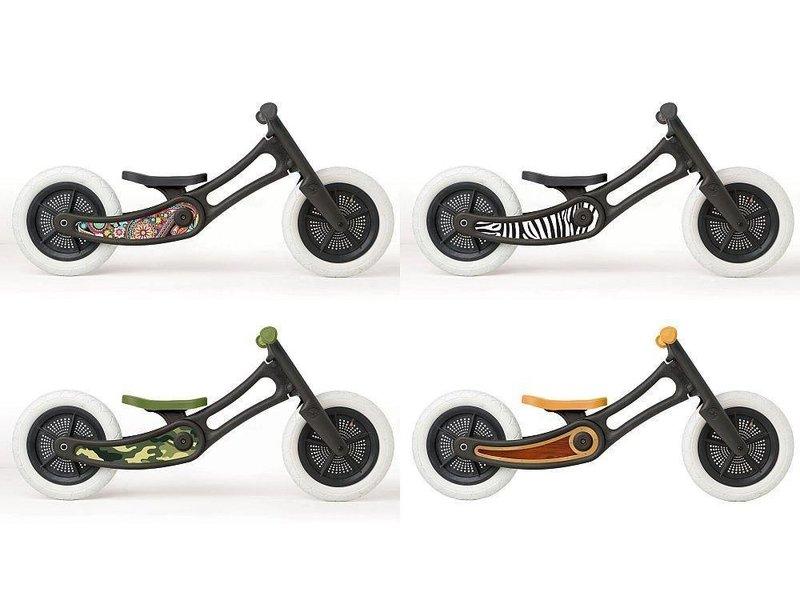 Wishbone Bike stickers recycled