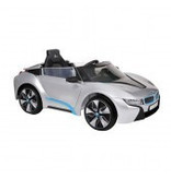ACCU-AUTO BMW I8 Zilver Met Afstandsbediening 12V
