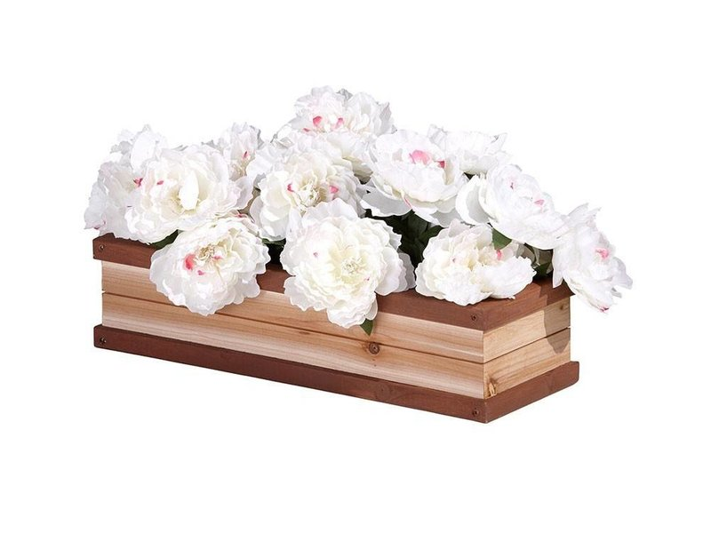Bloemen/plantenbak