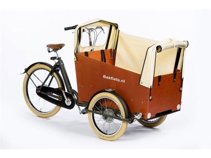 Bakfiets.nl CargoTrike Cruiser Wide Steps elektrische bakfiets