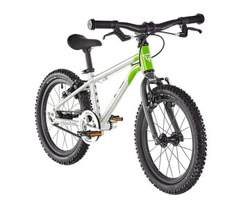 "Early Rider Belter Trail 16"" Fiets Kinderen, brushed aluminum/lime (2019"