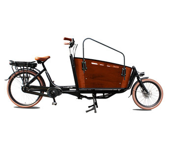 Vogue E-bike Carry tweewieler bakfiets middenmotor