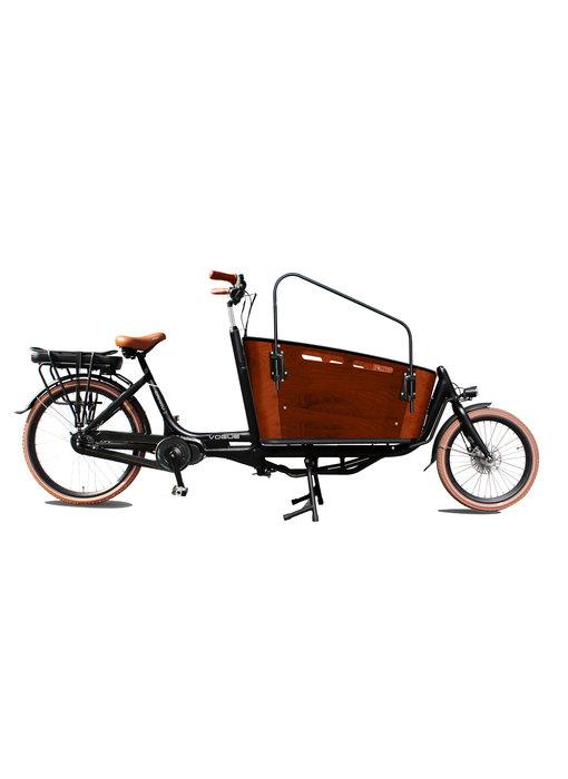 Vogue E-bike Carry tweewieler bakfiets middenmotor