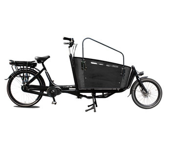 Vogue E-bike Carry tweewieler middenmotor Black