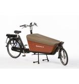 Bakfiets.nl Dekzeil Cargobike long Tweed bruin