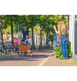 Bakfiets.nl CargoTrike Classic Wide Steps Elektrisch