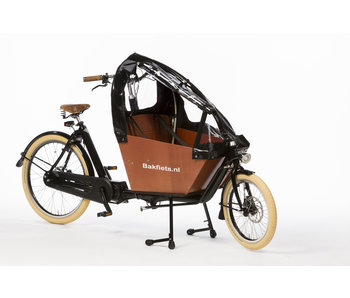 Bakfiets.nl Tent Cargobike short all-open
