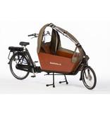 Bakfiets.nl Tent CargoBike Long All Open, extra hoog, 90% open div. kleuren