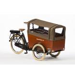 Bakfiets.nl Tent voor Trike Wide met rits: tweed