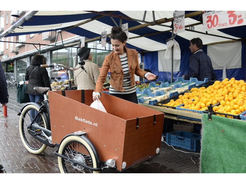 Bakfiets.nl  Extra kastje onder bankje voor CargoTrike Wide