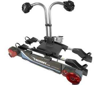 Fietsendrager Twinny Load E-Carrier 2 fietsen Kantelbaar