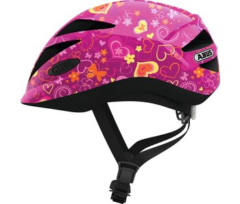 Abus Hubble 1.1 Purple Flower kinderhelm