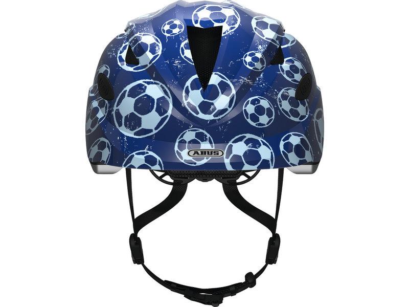 Abus Anuky Blue Soccer kinderhelm