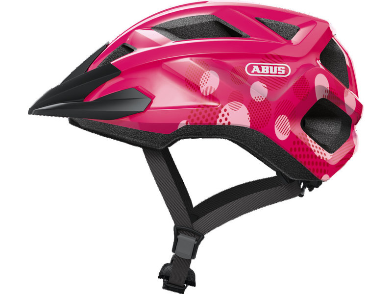 Abus MountZ Fuchsia Pink kinderhelm