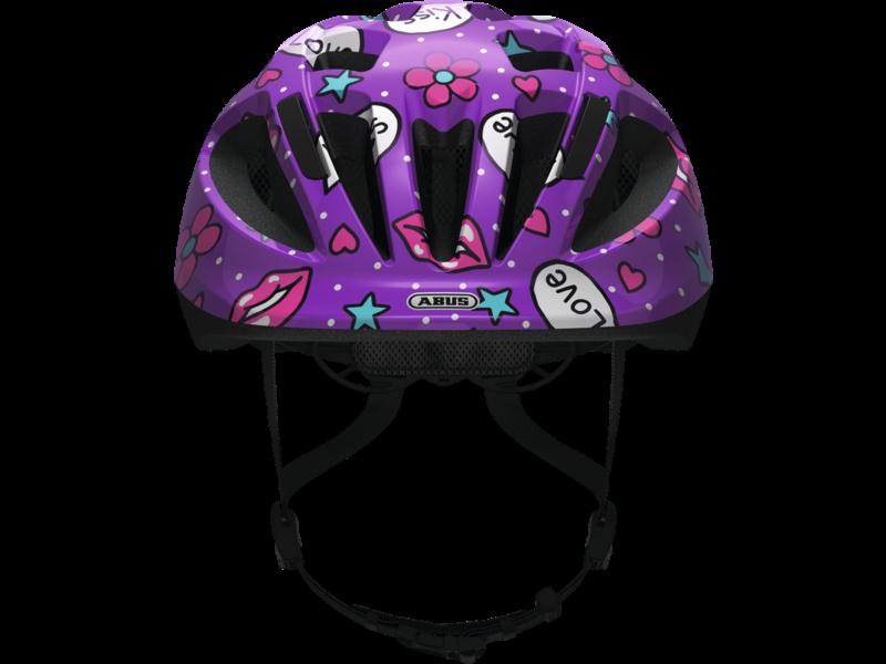Smooty 2.0 Purple Kisses kinderhelm