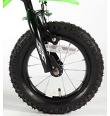 Volare Motobike 12 inch jongensfiets groen
