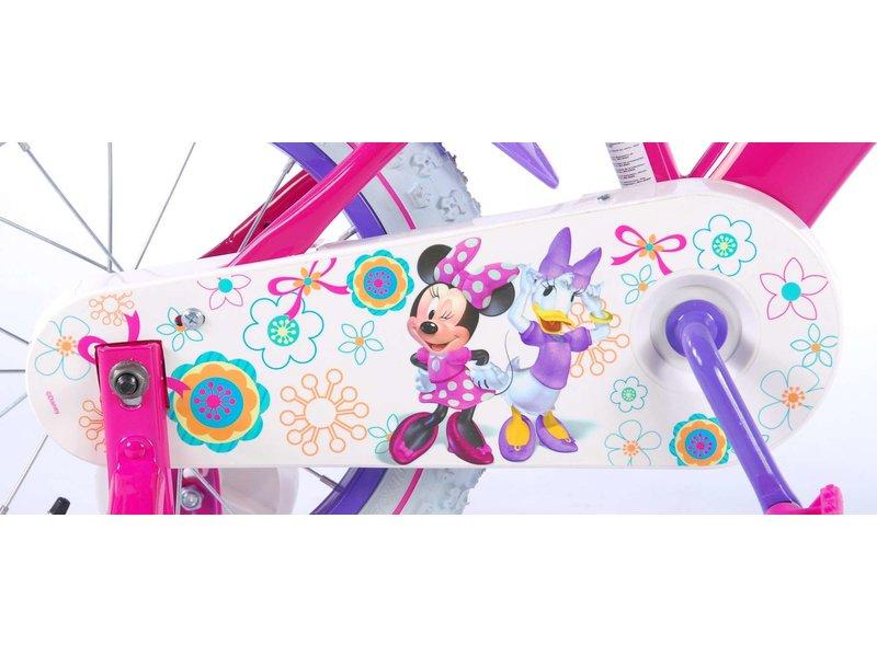 Disney Minnie Mouse Disney Minnie Bow-Tique 14 inch meisjesfiets roze / paars