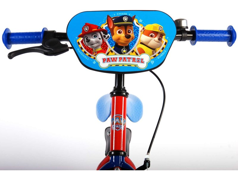 Paw Patrol 14 inch jongensfiets rood blauw
