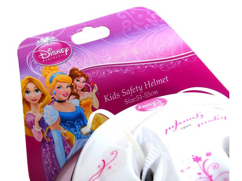 Disney Princess Fietshelm Skatehelm 51-55 cm ivoor wit roze