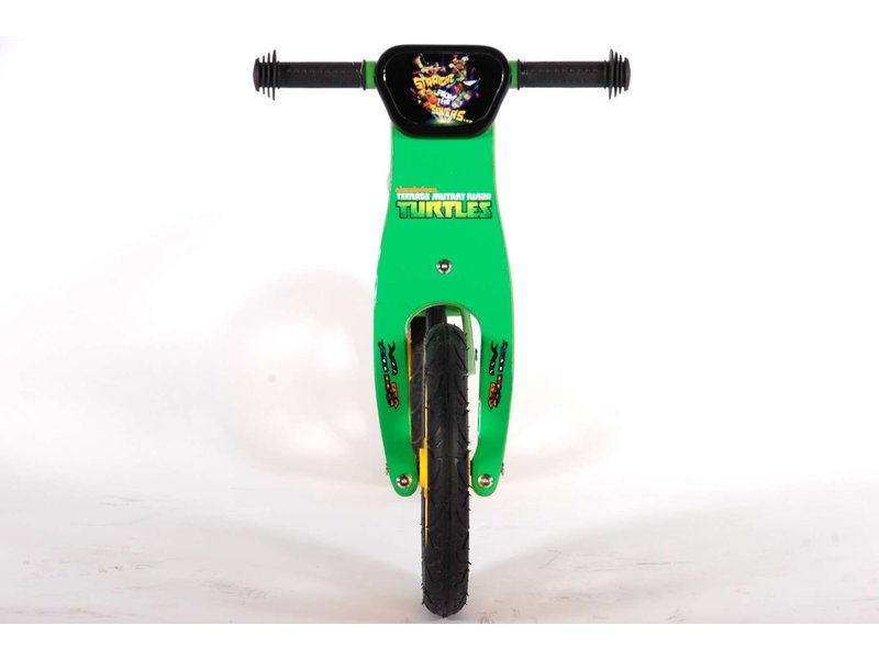 Turtles Teenage Mutant Ninja Houten 12 inch loopfiets groen
