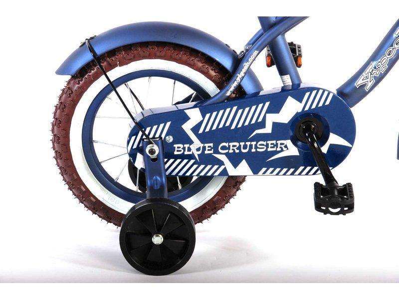 Volare Blue Cruiser 12 inch jongensfiets mat blauw