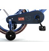 Volare Urban City Donker 16 inch jongensfiets mat blauw