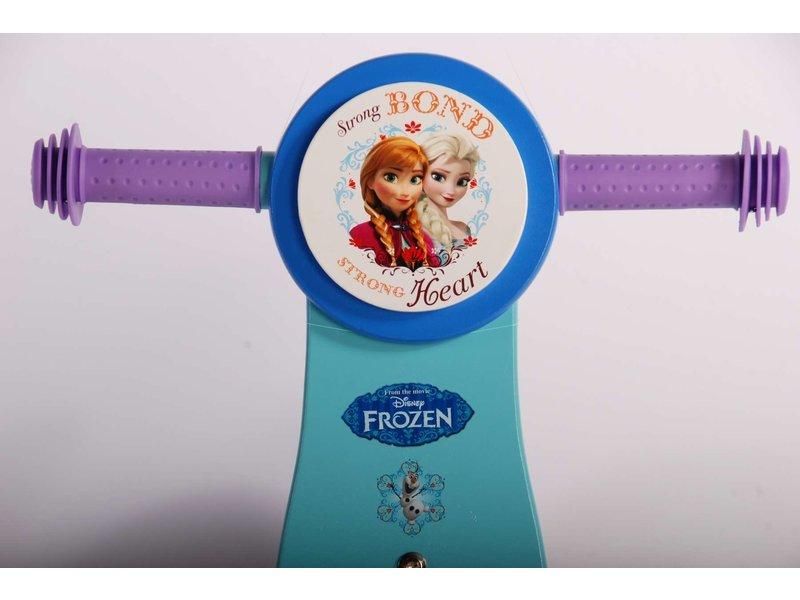 Disney Frozen Houten 12 inch loopfiets blauw