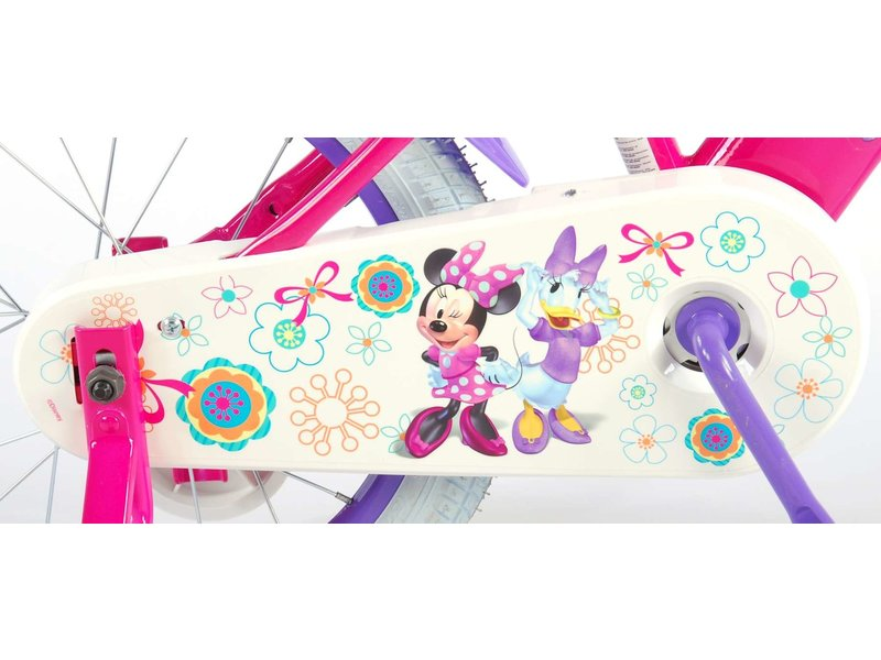 Disney Minnie Bow-Tique 16 inch meisjesfiets roze / paars