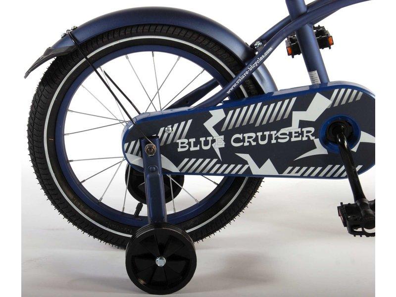 Volare Blue Cruiser 16 inch jongensfiets mat blauw