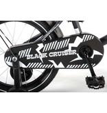 Volare Black Cruiser 16 inch jongensfiets mat zwart