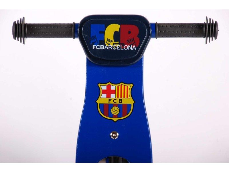 Volare FC Barcalona Houten 12 inch loopfiets rood blauw