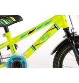 Volare Electric Green Neon 14 inch jongensfiets groen