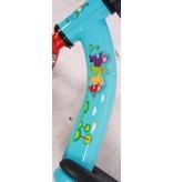Teletubbies 12 inch loopfiets mint blauw