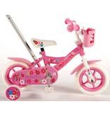 Yipeeh Flowerie 10 inch meisjesfiets roze