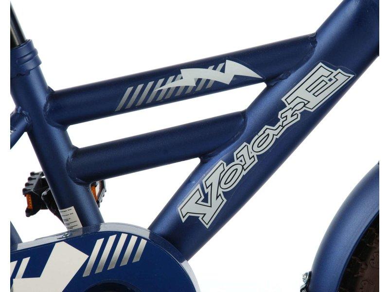 Volare Urban 12 inch jongensfiets mat blauw