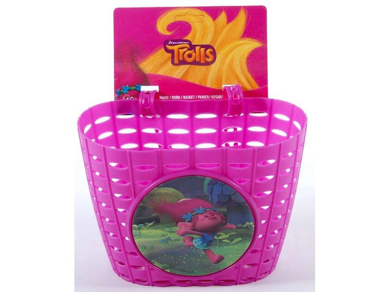 Volare Punky Plastic Mandje paars roze
