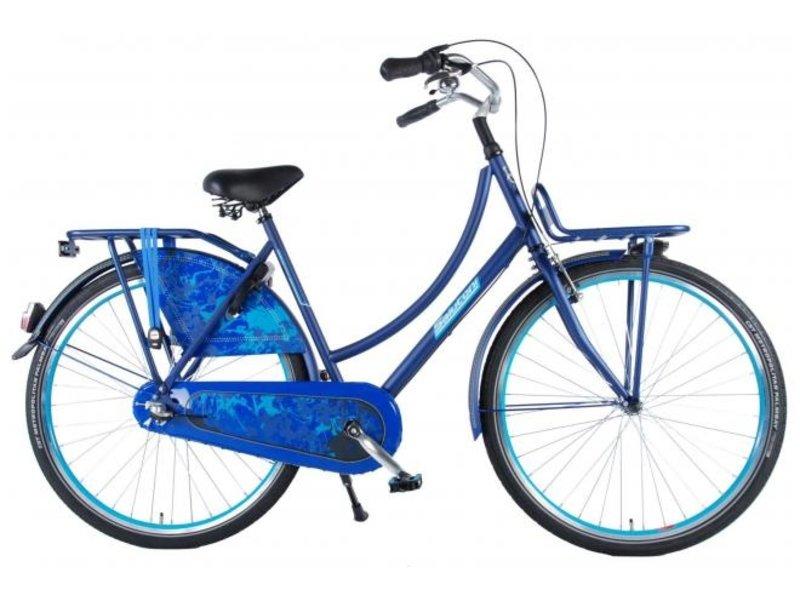 Salutoni Urban Transport 56 cm 28 inch meisjesfiets Shimano Nexus 3 blauw