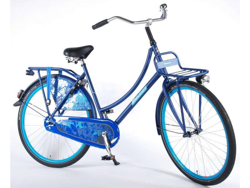Salutoni Urban Transport 56 cm 28 inch meisjesfiets blauw