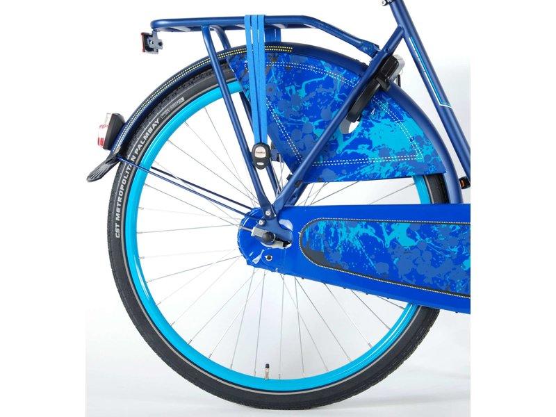 Salutoni Urban Transport 50cm 28 inch meisjesfiets blauw