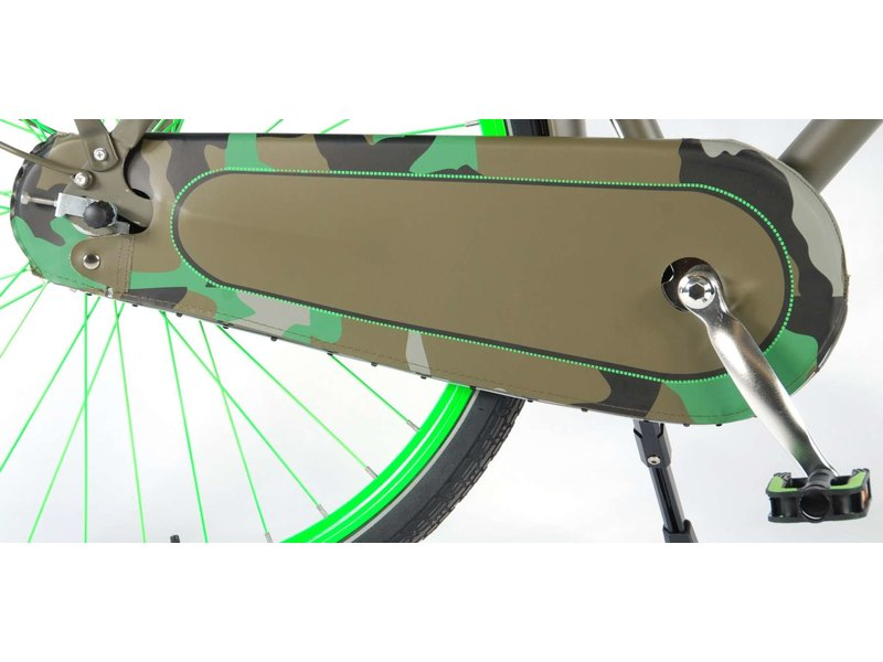 Salutoni Urban Transport 56 cm 28 inch meisjesfiets mat legergroen