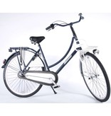 Salutoni Urban transport 50 cm 28 inch meisjesfiets Shimano Nexus 3 blauw wit