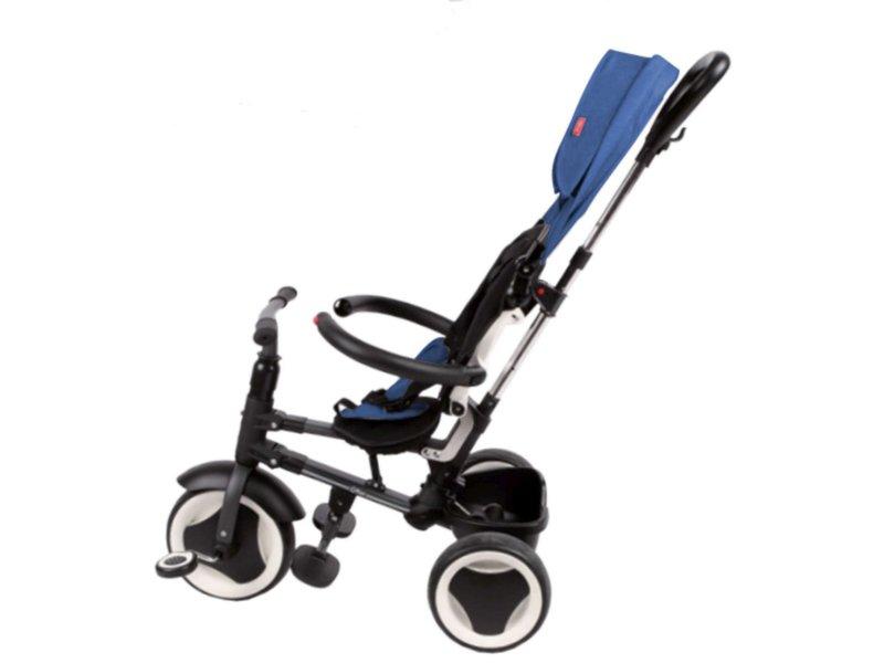 Q-Play Driewieler Rito 3 in 1 driewielers deluxe blauw