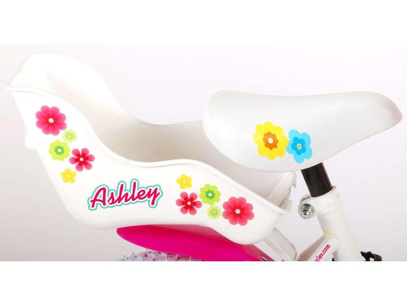 Volare Ashley 12 inch meisjesfiets wit