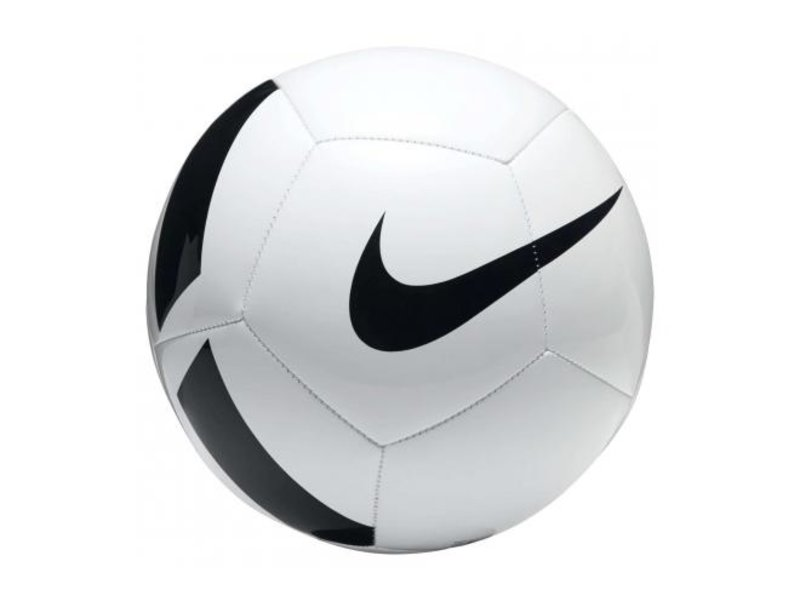 Nike Voetbal Pitch Team Maat 5 wit